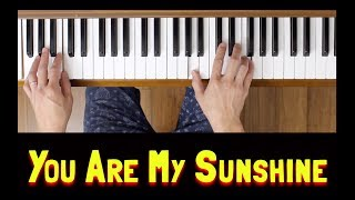You Are My Sunshine (Easy Piano Tutorial)