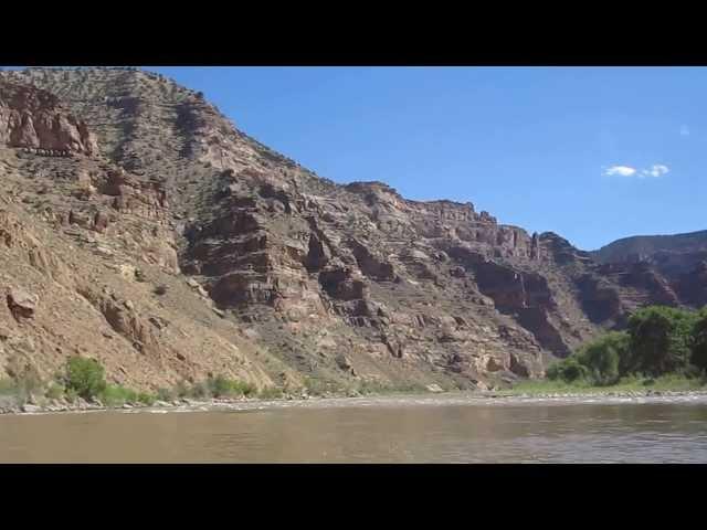 Desolation Canyon Raft Trip - On the river