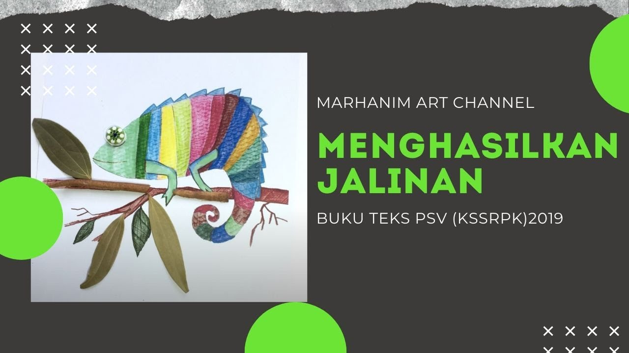 Pendidikan Seni Visual Tahun 4 Art For Kids Youtube