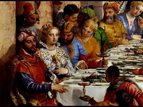 Wedding Feast At Cana.The Wedding Feast At Cana Original Organ Composition By Stuart Meyer Based On Veronese S Painting