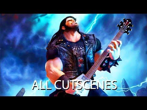 Brutal Legend All Cutscenes (Game Movie) 1080p HD