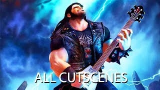 Brutal Legend All Cutscenes (Game Movie) 1080p HD