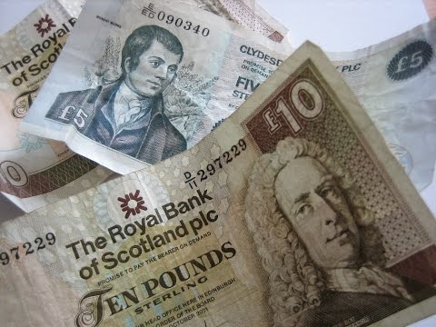 Scottish Banknotes versus Bank of England Pounds