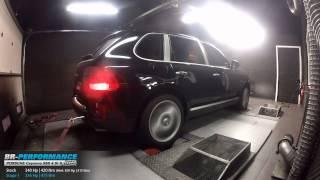 Reprogrammation Moteur Porsche Cayenne 955 4.5i S 340hp (Réel: 309hp) @ 336hp par BR-Performance