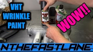 "VHT Wrinkle Black Paint (Intake Manifold) ""How To"""