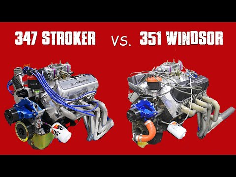 347 STROKER vs JUNKYARD 351W-SBF DYNO DUEL!