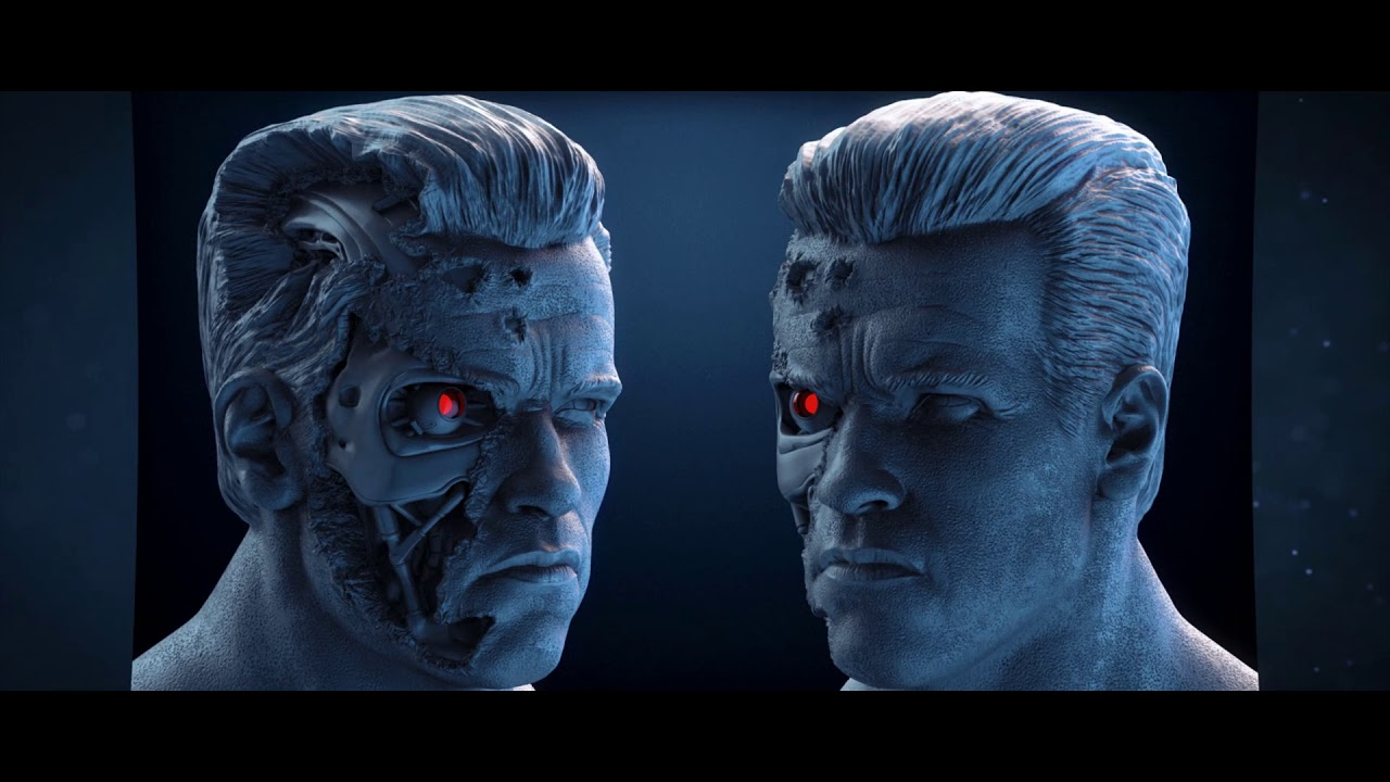 TERMINATOR !!! Next 3D Printable Model !!! it's Coming