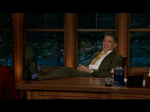 Late Late Show with Craig Ferguson 4/26/2012 Toni Collette, Mike Massimino