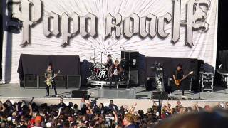 papa roach silence is the enemy new song uproar tour 2012 bonner springs ks