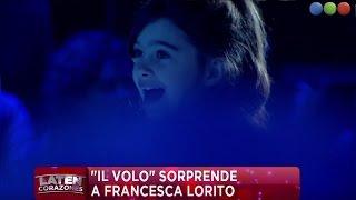 La emocionante sorpresa para Francesca Lorito - Laten Corazones