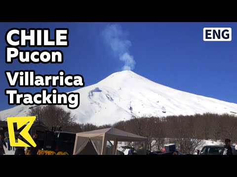【K】Chile Travel-Pucon[칠레 여행-푸콘]비야리카 화산 트레킹/Villarrica/Volcano/Ski/Andes