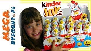 Kinder Joy Emoji • Zabawne Emotki z Jajkach !!! • openbox