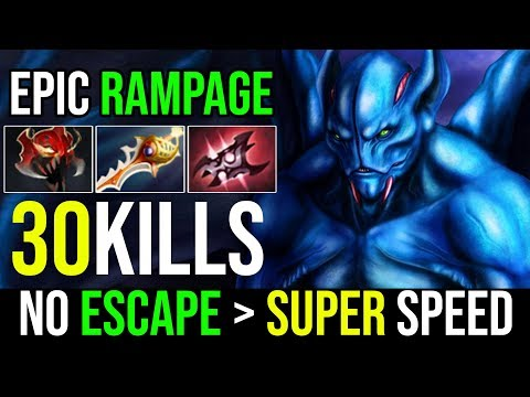 Back to Carry Meta [Night Stalker] No Escape! Super Speed Crazy 30Kills RAMPAGE By Bamboe | DotA 2