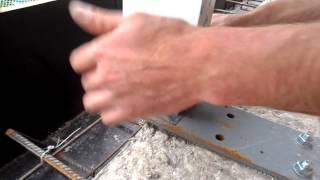 Болт din 933(Крепление стойки витража к закладной детали с использованием: нержавеющий болт с шестигранной головкой..., 2014-06-09T12:17:09.000Z)