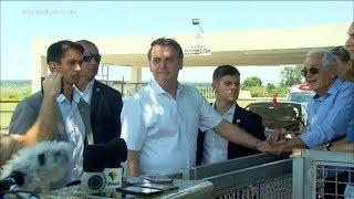 Presidente Jair Bolsonaro comenta soltura de Lula e os ataques feitos pelo ex-presidente