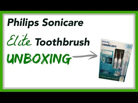 Philips Sonicare Elite Toothbrush Unboxing Preview & 1st Impression - Mydatatips