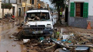 Unwetter auf Mallorca: Die Zerstörung nach 180 Litern Regen
