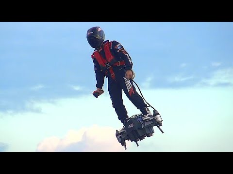 Zapata Flyboard Air - World's First Jet Hoverboard