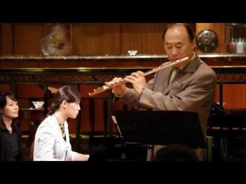 【Part 1】 C. Czerny / Grand Duo Concertante for Flute and Piano - Shigenori Kudo and Yui-Cécilia Kudo