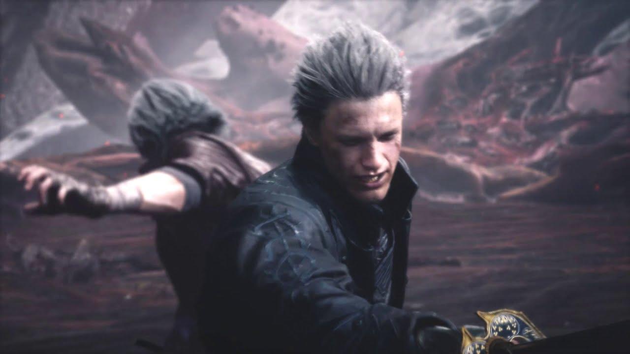 Devil May Cry 5 Secret ending and Vergil's ending edited together