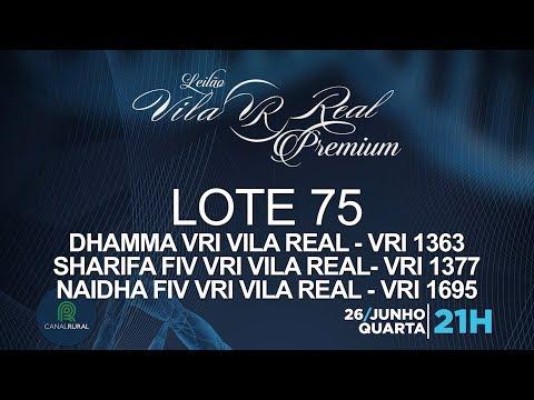 LOTE 75 (VRI 1363/VRI 1377/VRI 1695)