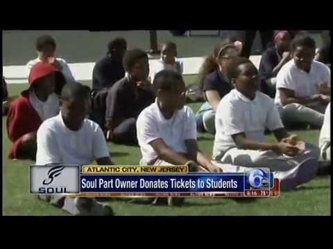 Cosmo DeNicola Donates 1,000 Tickets to Children in Atlantic City - 6ABC
