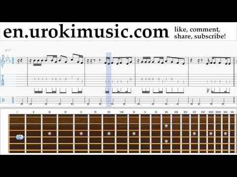 How to Play Guitar Owl City - Not All Heroes Wear Capes Tabs Part#2 um-i352