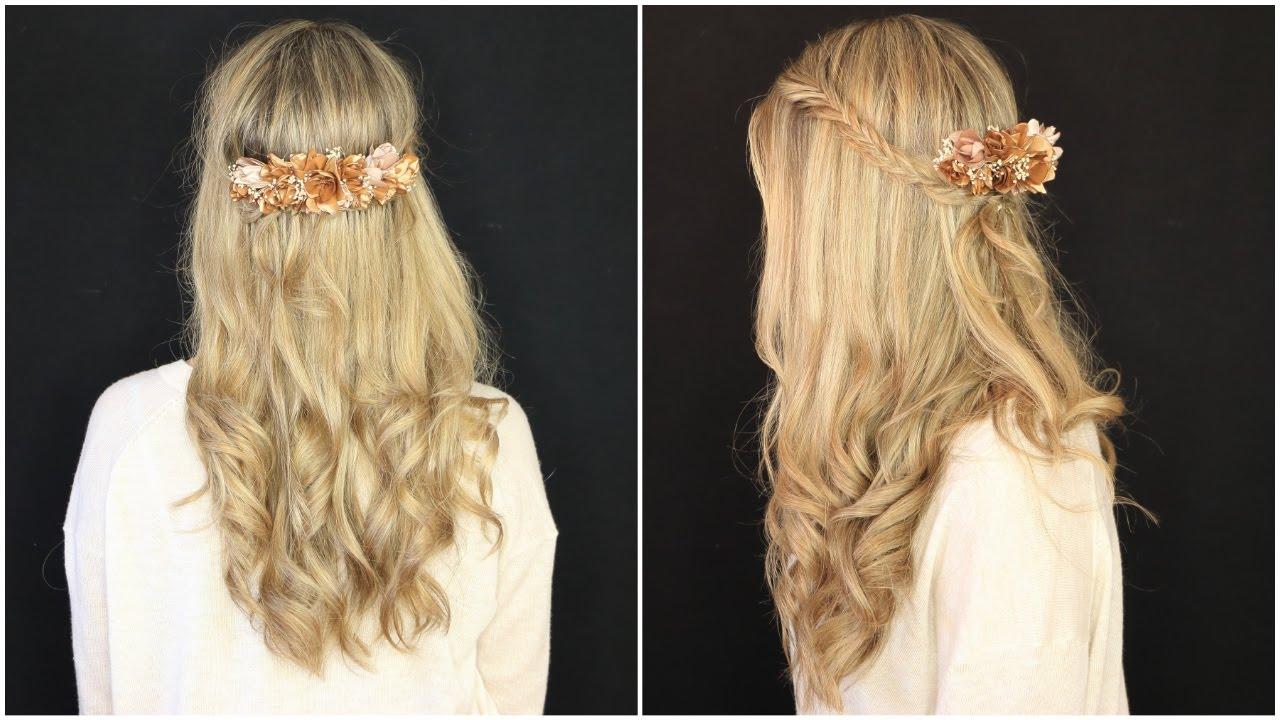 Peinado muy facil para invitada de boda i myriam viudes - Peinados elegantes para una boda ...