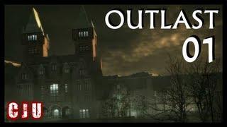 Let's Play Outlast Part 1 - The Asylum | PC Horror Game Walkthrough
