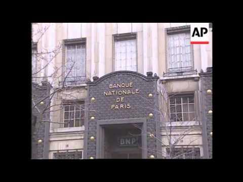 FRANCE: BANK REGULATORS DECIDE ON B-N-P SHARES