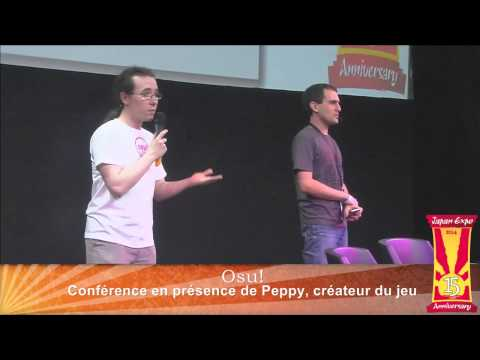 osu! @ Japan Expo 15 (history / Q&A / expo play)