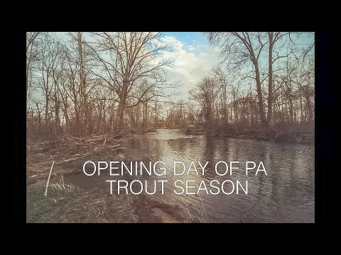 Opening Day Of PA Trout Season 2019 (CRAZY Catch)