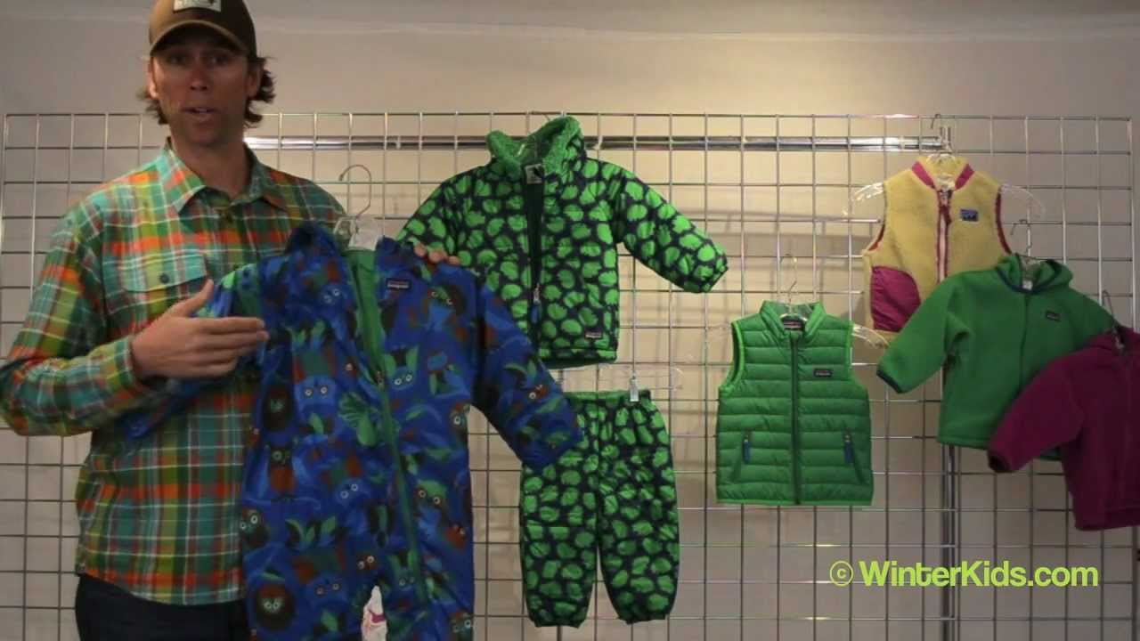 6aab72358 2012-2013 Patagonia Infant Reversible Puff-Ball Bunting - YouTube