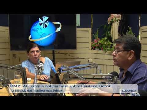 RMP: AG circula noticia falsa sobre Gustavo Gorriti