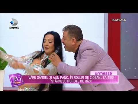 Gazi Demirel impreuna cu regina dansului oriental Sema Yildiz la Teo Show Kanal D