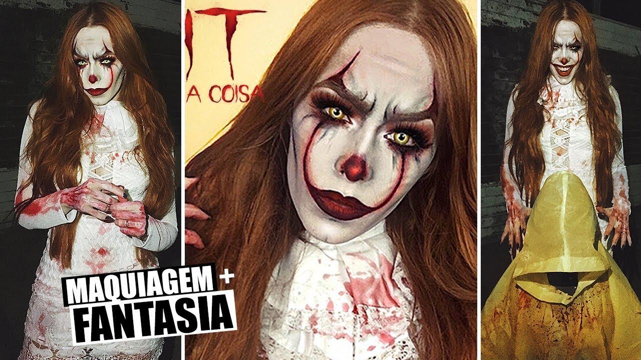 Anjo Da Noite Maquiagem Halloween Youtube