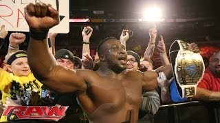 Big E Langston vs. Curtis Axel - Intercontinental Title Match: Raw, Nov. 18, 2013