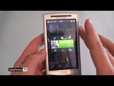 Samsung H1 Vodafone 360 videoreview da Telefonino.net