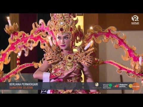 [FULL] Traditional Costume Puteri Indonesia 2018, Malam Bakat Seni dan Budaya Cucok Meong