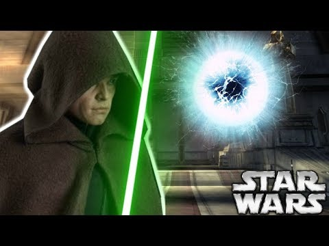 The POWERFUL Force Ability Luke Only Used ONCE  Star Wars Explained