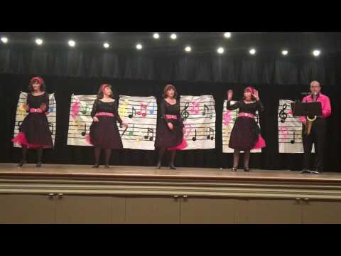 """Bob & The Bobbettes, """"And Then He Kissed Me""""  6/4/17"""