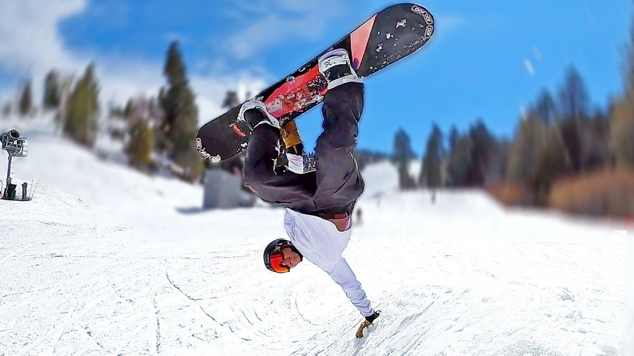 Snowboarding In California Youtube