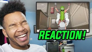 "Rick and Morty Season 3 Episode 3 ""Pickle Rick"" REACTION!"