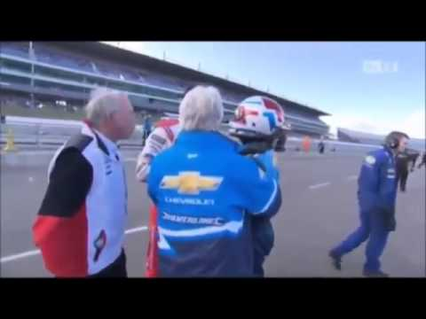 Matt Neal v Jason Plato fight at Rockingham