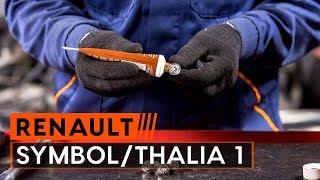 Cambiar Pastilla de freno delanteras y traseras RENAULT THALIA I (LB0/1/2_) - instrucciones en video