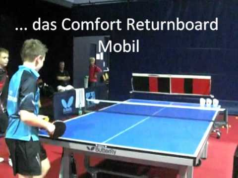 Werner Schlager Academy Ping Pong Training On Returnboard Mobile