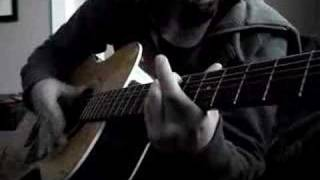 Here Is Gone (Acoustic Cover) Take 2 - proper tuning/tabs