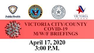 COVID-19 April 17, 2020 Press Conference
