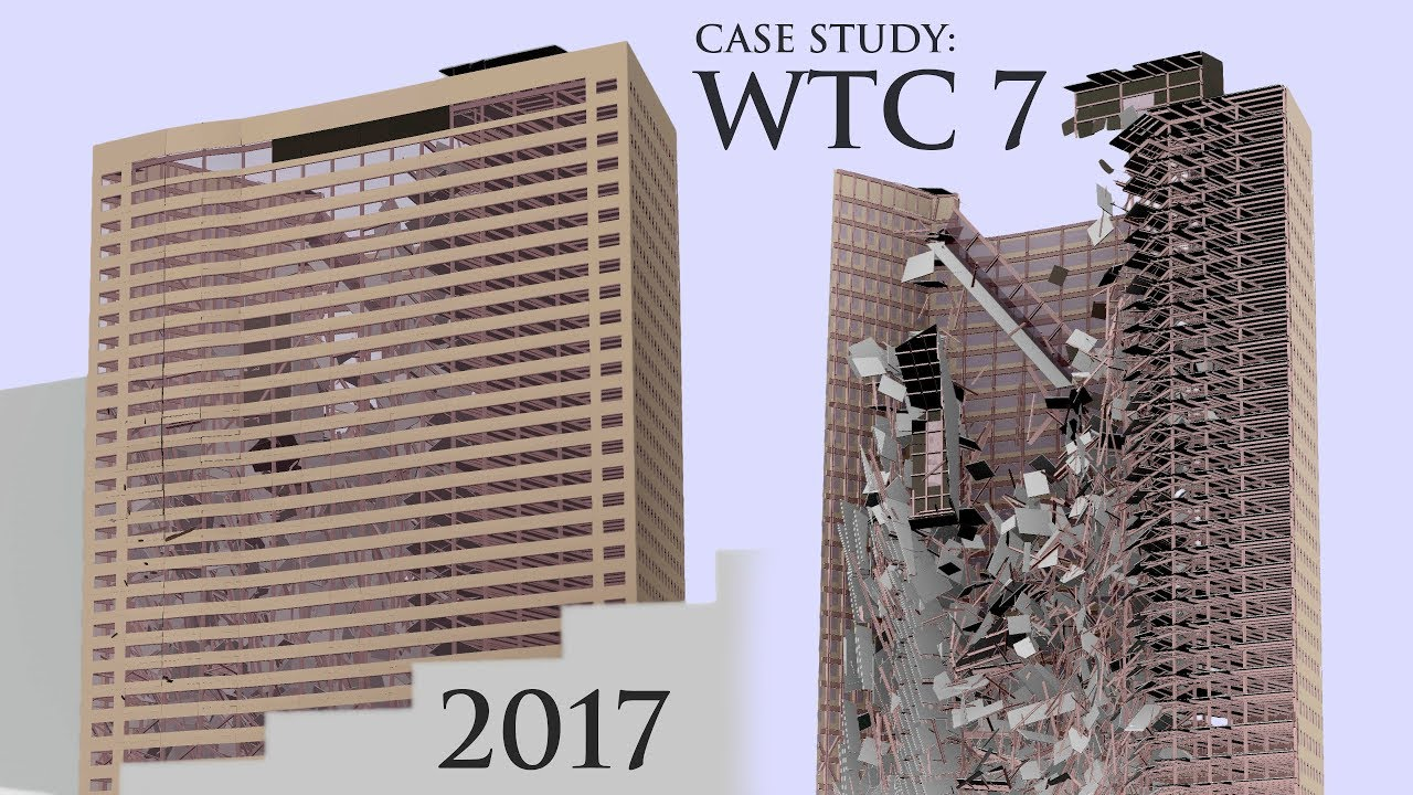 Simulation Facade Wtc7 Simulation Evaluation World Trade Center 7 Collapse Research Study