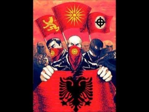 albania kosovo uck vs macedonia army serbia